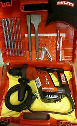 Hilti Te 5 Hammer Drill 230v Free Drill Bits And Chisels, Made In Germany