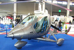 Cloud Dancer Rotortec Germany Helicopter Wood Model Replica Small Free Shipping