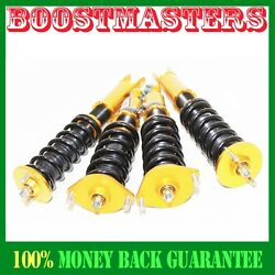 For Nissan Z32 300zx Performance Height Adjustable Coilover Suspension Kit