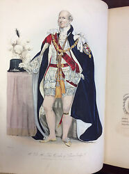 History Of The Orders Of Knighthood Of The British Empire - 1842 - Color Plates