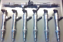 2008 6.4l Ford Powerstroke Injector Set No Up Front Core Fee