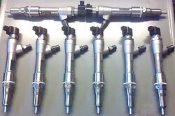 2009 6.4l Ford Powerstroke 100hp Performance Injector Set No Up Front Core Fee