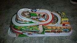 collectible technofix race track cars tin
