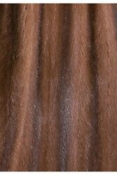 Recycled Mink Fur Inner Lining Light Brown Sew On Service