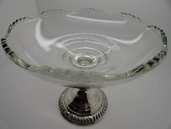 Frank M. Whiting Sterling Silver Art Nouveau Candy Dish