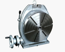 16 Precision Horizontal And Vertical Rotary Table With A Dividing Plate