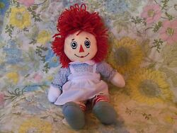 Raggedy Anne Cloth Doll 95th Anniversary Edition 13 Excellent