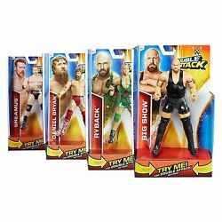 mattel wwe double attack wrestling action