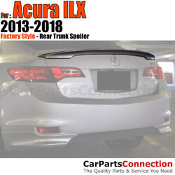 Painted Trunk Spoiler For 13-18 Acura Ilx Flush Mount Nh731p Crystal Black Pearl