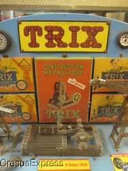 1950 large trix shop display erector