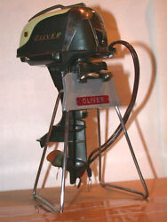 display stand oliver toy outboard motors