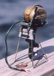 display stand scott atwater toy outboard