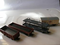 lot of 4 old ho scale piko playcraft jouef