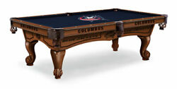 Officially License Columbus Blue Jacket 8and039 Pool Billiard Table