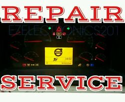 Instrument Cluster Repair Service For Volvo Semi Tractor Truck Vn, Vnl