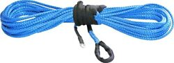 Kfi Blue Synthetic Atv Winch Cable 1/4 X 50' [syn25-b50]