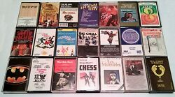 Rare Lot 21 Various Popular Broadway Musicals And Movie Soundtrack Cassette Tapes