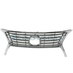 For 13-15 Rx350 3.5l Canada Built Front Grill Grille Assembly W/f Sport Chrome