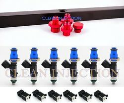 BMW E30 E34 Bosch ev14 650cc fuel injectors rail M20 325i B25 325IS E28 TURBO BK