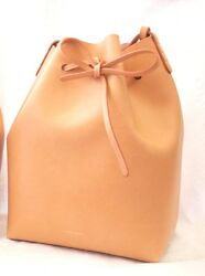MANSUR GAVRIEL- BUCKET BAG CAMMELLO - ROSA - NEW! Beautiful Quality We All Love