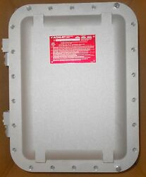 Adalet Xce-101406-n4 Explosion-proof Junction Box Drilling In House Avail.