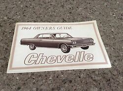 1964 Chevy Chevelle Owners Guide
