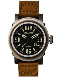 ✅ Lum-tec Abyss 600m-3 Diver + Gift Mens Watch Limited Edition 150 🇺🇸 Dealer