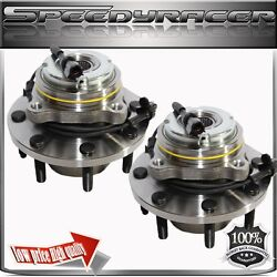 Wheel Hub Bearing For Front 03-05 Ford Excursion 4wd/models W/4 Wheel Abs 1pair