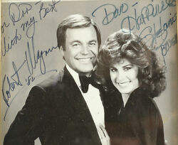 Robert Wagner And Stephanie Powers Photgraph, Signed And Personalized 1982