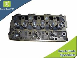 New Complete Cylinder Head With Valves Fits Kubota D1105