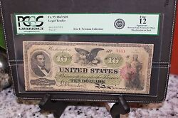 1863 United States 10 Dollar Paper Note