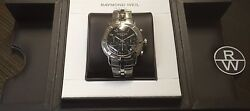 Raymond Weil Parsifal Chronograph Automatic Mens Watch 7241-st-00208 Cal Rw 7300