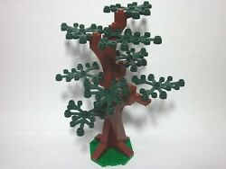 Custom forest tree for LEGO with 8 dark green leaves new parts FREE U.S. Ship