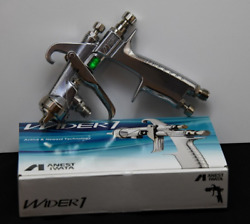 Anest Iwata Wider1-13e2p Wider Paint Spray Gun Pressure Feed 1.3 Mm Without Cup