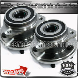 Front Wheel Bearing And Hub Assembly X 2 Fit 90-98 Jeep Cherokee 513084