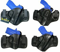 TAGUA IWB INSIDE PANTS CONCEALMENT DUAL 2 CLIP HOLSTER - Choose Your Gun!