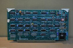 Vector Graphics Gsx-86 Graphics Extension Double S-100 Pcb With 8kb Ram Board