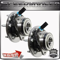 1 Pair Front Wheel Bearing And Hub Assembly 515093 For Hummer H3 06 07 08 09 10