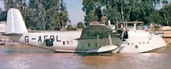 Empire Boac Short Flying Boat Airplane Wood Model Replica Large Free Shipping