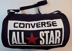 Converse All Star Chuck Taylor Barrel Duffel Travel Gym Bag.
