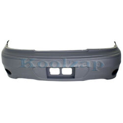 99-05 Grand Am Gt Rear Bumper Cover Assembly W/ Back-up Lamp Gm1100567 22610699