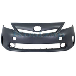 For 12-14 Prius V Front Bumper Cover Assy W/led Headlights To1000387 5211947925