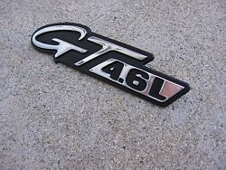 94-04 MUSTANG CONVERTIBLE COUPE GT 4.6 FENDER EMBLEM FACTORY STILL LOOKS GREAT