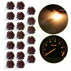 20X halogen T4/T4.2 Neo Wedge Warm White Bulbs HVAC Climate Control Lights Lamp