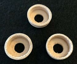 Three 3 Coleman Same As Part 216-5091 - Leather Pump Cups