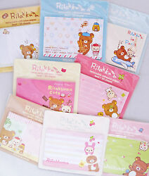 Rilakkuma Removable Adhesive Paper Sticky Notes Your Choice of Design KAWAII