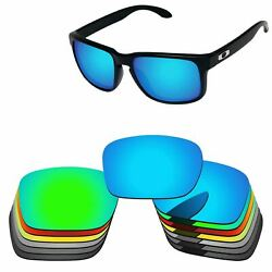 PapaViva Polarized Replacement Lenses For-Oakley Holbrook OO9102 Multi-Options
