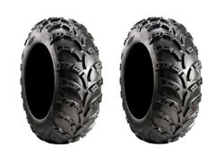 Pair of Carlisle AT489 II (2ply) ATV Tires 22x11-10 (2)