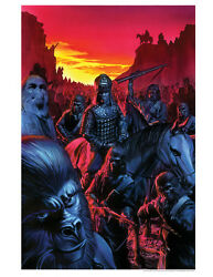 Alex Ross Planet Of The Apes Comic Book Cover Artwork Fine Art Giclée On Paper