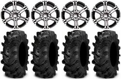 Itp Ss212 15 Wheels Machined 32 Cryptid Tires Arctic Cat Tbx Trv Mudpro